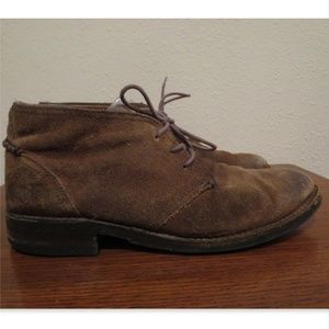 Frye Oliver fatigue suede chukka boots shoes